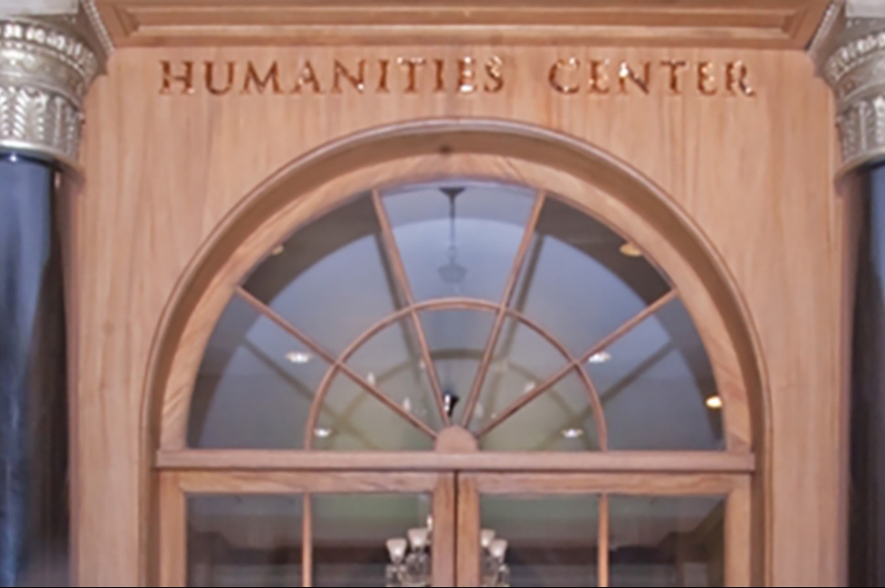 Humanites Center Door